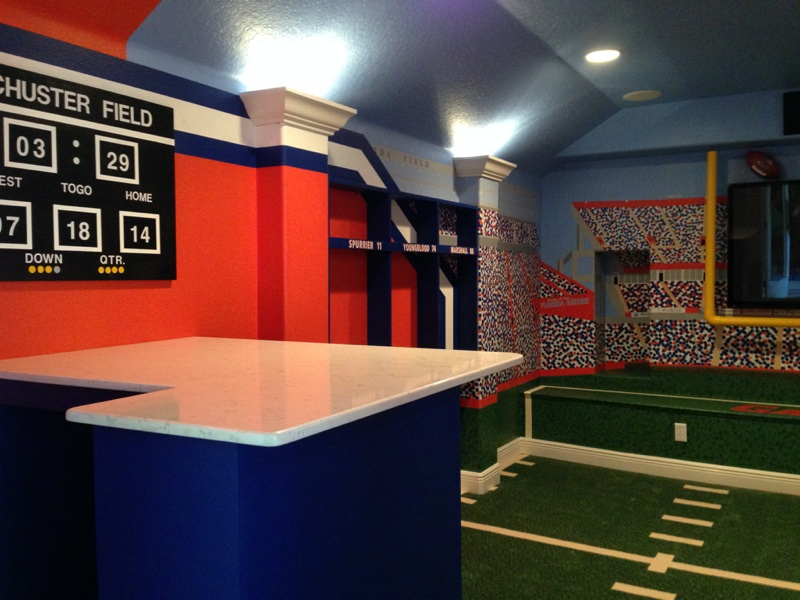 Florida Gators Home Theater
