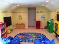 Classroom Theme kids Playroom