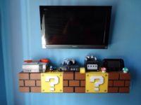 Super Mario Bricks TV Shelf and Storage