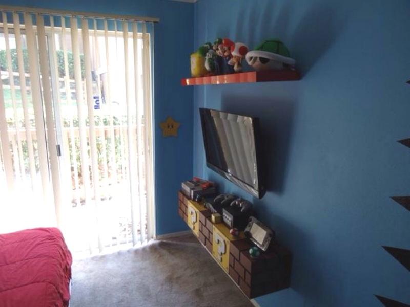 Super Mario Bros. Theme Bedroom | Theme Room Design