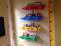 Crayon Shelves