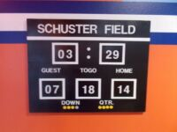 Football Scoreboard for Gators Room