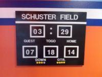 Football Scoreboard for Gators Room