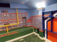 Gators Football Room