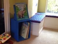 Large Book Stand and Cart