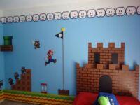Super Mario Castle Backboard