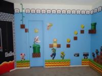 Super Mario Theme Bedroom