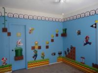 Super Mario Wall Mural