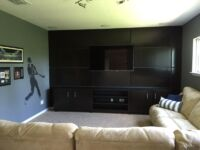 Home Theater Entertainment Center